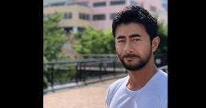 榎並大二郎のイケメンひげ加工画像