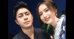 榎並大二郎と嫁の有村実樹の画像