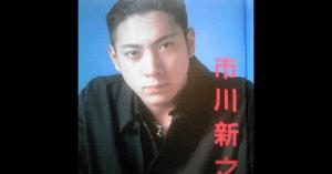 市川海老蔵(新之助)の若い頃のイケメン画像