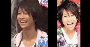 田中樹の中学時代の画像