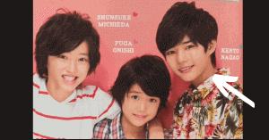 道枝駿佑と長尾謙杜の子供時代の身長比較画像