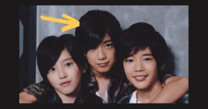 道枝駿佑と高橋恭平の子供時代の身長比較画像