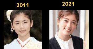 小芝風花の過去と現在の比較画像