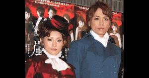山崎育三郎と安倍なつみの夫婦画像