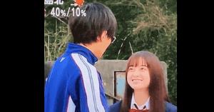 橋本環奈と永瀬廉の画像