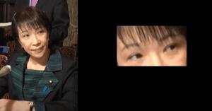 高市早苗の眉毛の画像