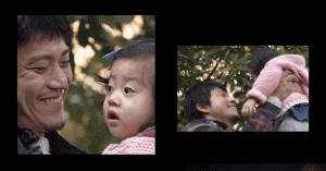 小栗旬と娘のコウノドリ共演画像