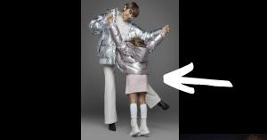 山田優と長女のモデル画像