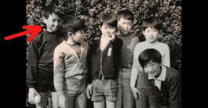河野太郎の若い頃のかわいい画像