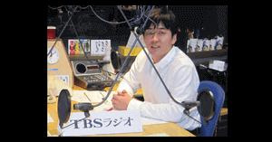 安住アナのラジオ収録の画像